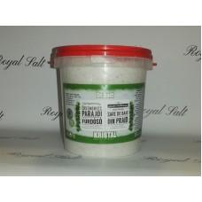 Kúpeľová soľ s liečivými bylinkami a prírodným bahnom 1,5kg