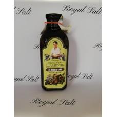 Šampón babky Agafy pre mužov s pivným droždím a mydlicou 350 ml